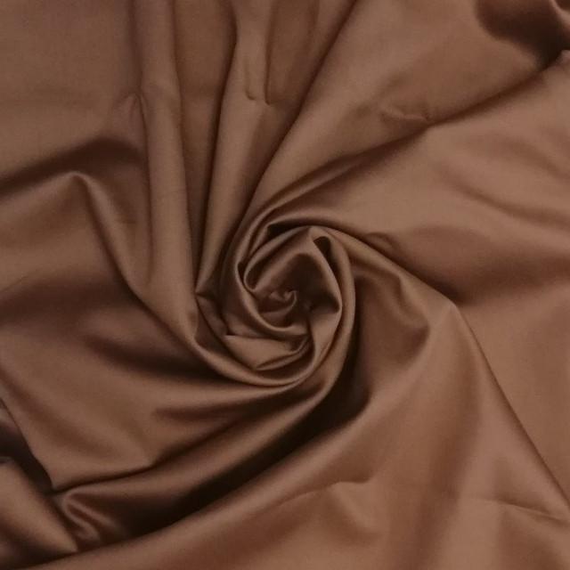 ткань сатин какао