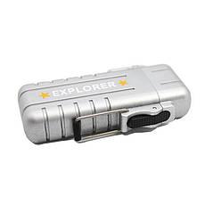 Вологозахищена електроімпульсна запальничка SUNROZ DK-8039 Explorer USB Срібний (SUN3814), фото 3