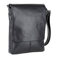 Мужская  черная сумка через плечо Monsen 10Ko1115-black