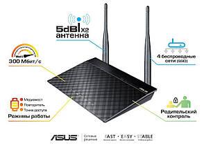 Wi-Fi роутер ASUS RT-N12 VP, вай фай маршрутизатор асус, фото 3