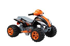 Детский квадроцикл Tilly YJ933 (T-734), черно-оранжевый