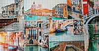 Пластикова листова стінова панель ПВХ Регул Венеціанський живопис 0,3мм 955*488 мм, фото 1
