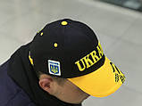 Кепки  Bosco Sport UA  голубой верх желтый  козрек, фото 2