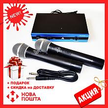 Радиосистема Behringer WM-501R, база, 2 микрофона | радиомикрофон | беспроводной микрофон