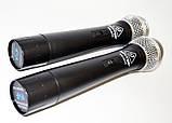 Радиосистема Behringer WM-501R, база, 2 микрофона | радиомикрофон | беспроводной микрофон, фото 4