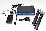 Радиосистема Behringer WM-501R, база, 2 микрофона | радиомикрофон | беспроводной микрофон, фото 7
