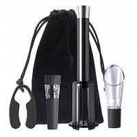 Штопор для бутылок Vino Pop Perfect Wine, набор для откупорки бутылок, цвет черный