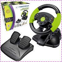 Игровой руль для ПК Esperanza EG104, руль с педалями для компьютера