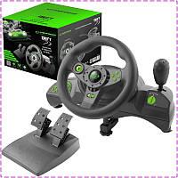 Игровой руль для ПК Esperanza EGW101, руль с педалями и коробкой передач для компьютера