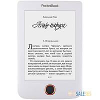 Читалка для книг PocketBOOK 614 Basic 3 White (PB614-2-D-CIS), электронная книга, ридер