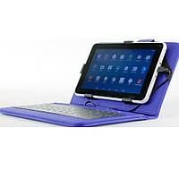 Универсальный чехол + клавиатура Nomi (KC 0700) для планшета 7.0 Синий