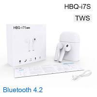 Беспроводные bluetooth наушники i7S TWS, наушники AIRPODS, наушники iPhone , фото 1