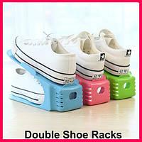 Двойная подставка для обуви Double Shoe Racks, органайзер для обуви, подставки для обуви , фото 1