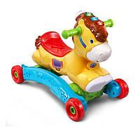 Каталка качалка лошадка 2 в 1 vtech Gallop and Rock Learning Pony