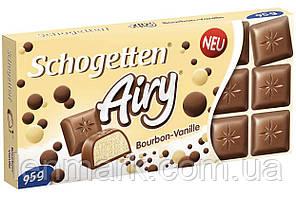 Молочный шоколад Schogetten Airy Bourbon-Vanile | с пористой ванильной начинкой 95 г