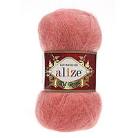 Пряжа Alize Kid Mohair Royal 619 коралловый (Ализе Кид Мохер Роял 50)