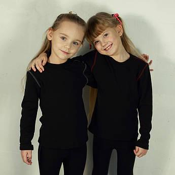 Детский поддевочный костюм для девочки Детское термобелье (поддева) Бордо | Дитячий поддевочний костюм