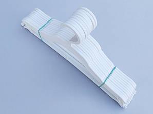 Плечики детские пластмассовые SUZIE белого цвета, длина 32 см, 10 штук в упаковке
