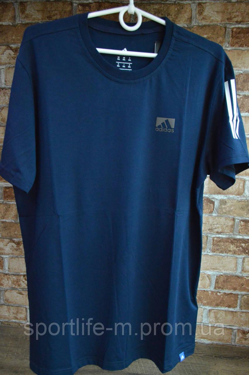 5015-Мужская футболка Adidass/синяя