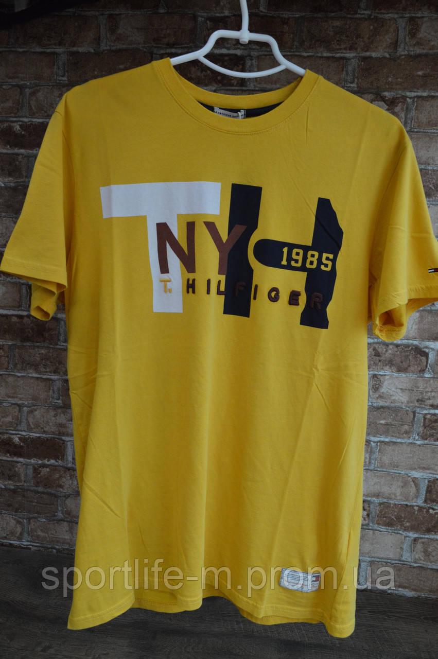 5016-Мужская футболка Tommy Hilfiger