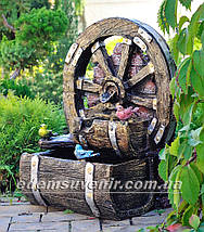 Декоративный фонтан Колесо, фото 3