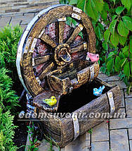 Декоративный фонтан Колесо, фото 2