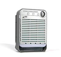 Воздухоочиститель со встроенным гигрометром-термометром GH-2173, таймер, 4 уровня очистки/ионизации, подсветка