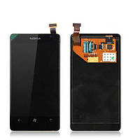 Замена ремонт стекла сенсора экрана модуля дисплея тачскрина для NOKIA Lumia 525 530 535 610