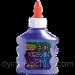 Клей Металлик ZB.6117-07, фиолетовый,  на PVA-основе, 88 мл