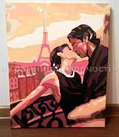"""1) Картина """"Французский поцелуй"""". Мой первый хваст!) Это моя первая картина, правда фото с телефона....вроде нормально... А вообще я в восторге!!!!! Ирина, г.Южноукраинск."""