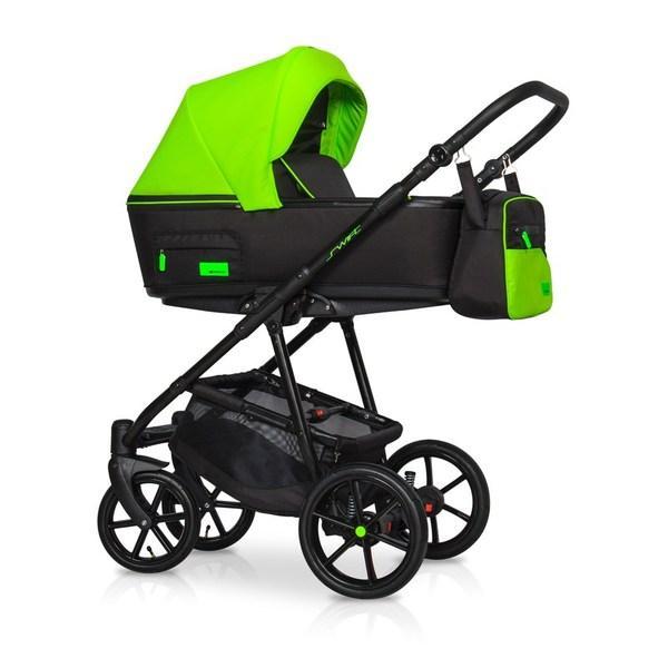 Дитяча коляска Riko Swift Neon 2 в 1 (Ріко Свіфт Неон Салатова)