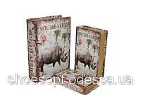 Вінтажна книга - скринька Південна Африка набір 3в1, фото 1