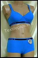 Комплект женского нижнего белья Sport Lu lola синий 6788 B
