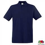 Тениска мужская однотонная Premium Polo, розница + опт \ ix - es - 0632180, фото 2