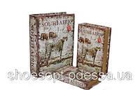 Стильная книга шкатулка Южная Африка набор 3шт , фото 1