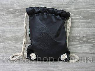 Сменка для обуви, спортивной формы, на завязках, с двусторонними паетками, толстые завязки, фото 2