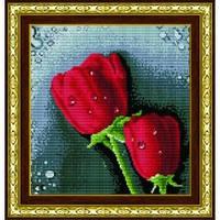 """""""Красные розы"""" Набор для рисования камнями"""