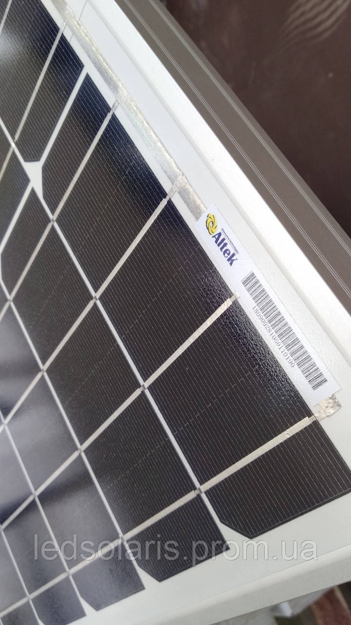 Монокристаллическая солнечная батарея AKM (М) 100 Вт