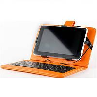 Универсальный чехол + клавиатура Nomi (KC 0700) для планшета 7.0 Оранжевый