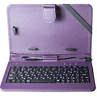 Универсальный чехол + клавиатура Nomi (KC 0700) для планшета 7.0 Фиолетовый
