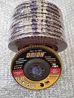 Круг лепестковый торцевой 125 мм (КЛТ) Т27 P80 (прямой)