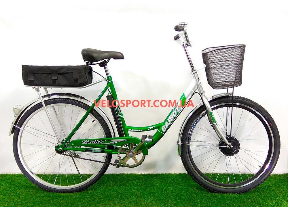 Электровелосипед Салют F-5 24 дюйма 350W 36v