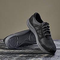 Тактические летние кроссовки чёрные