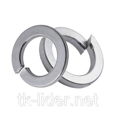 Шайба пружинная, шайба гровер 6 DIN 7980 ГОСТ 6402-70