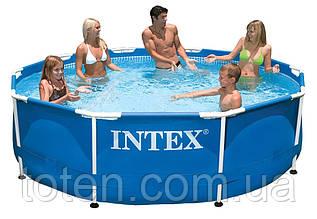 Каркасний басейн 305 x 76 см Іntex 28200 (аналог 28700) Intex компактний з металевим каркасом