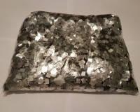 Конфеті квадратики сріблі , 50 грам