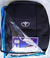 Авточехлы Daewoo Lanos Korea 1997- з/сп (цельная) Nika