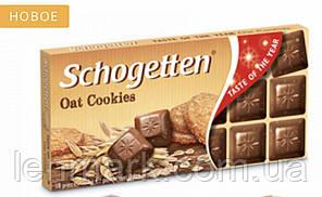 Молочный шоколад Schogetten  Oat Cookies | с овсяным печеням  100 г
