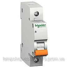 Автоматический выключатель ВА63 1П 16A C 4,5 кА, Болгария/Италия