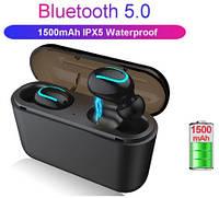 Беспроводные наушники Bluetooth HBQ Q32 Black